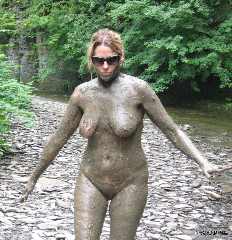 What Nude women in mud remarkable